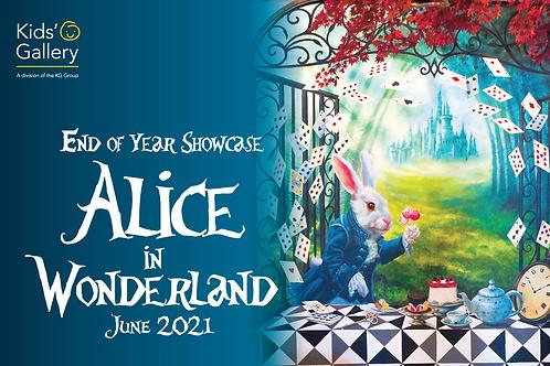 End-of-year Showcase   Alice in Wonderland