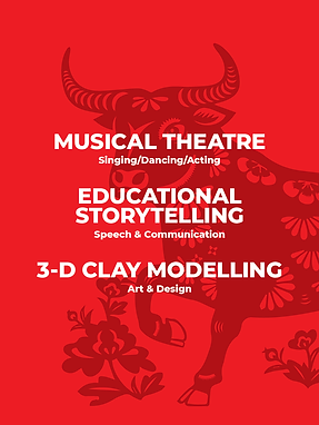 Musical Theatre, Educational Storytelling & 3-D Clay Modelling