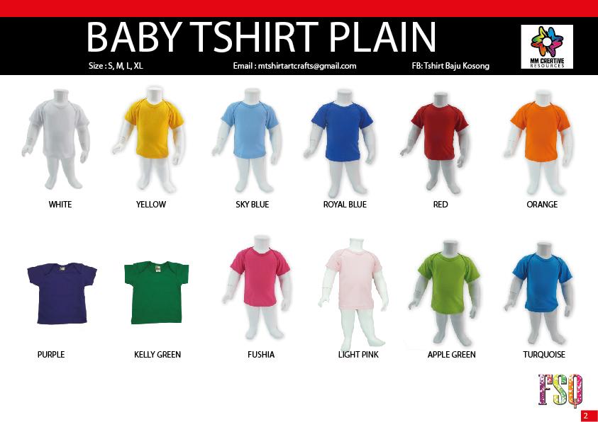 Tshirt Baju Kosong Selangor Fsq Wear