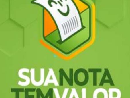 Governo lança programa Sua Nota Tem Valor. Instituições sem fins lucrativos concorrem a prêmios.