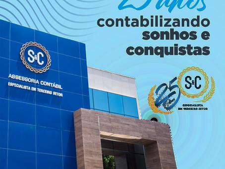 S&C completa 25 anos e realiza programação comemorativa virtual