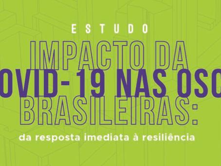 Estudo revela o impacto da pandemia nas OSCs do Brasil