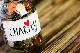 Giving to charities: Do good, and be rewarded.