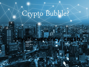 The cryptocurrency crash, speculative investing, and bubbles