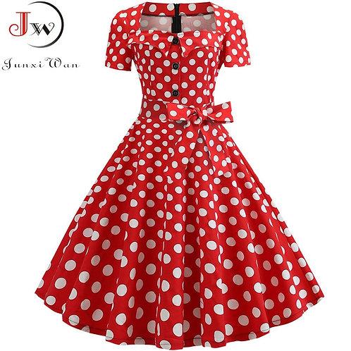 Minnie Polka Dot Dress