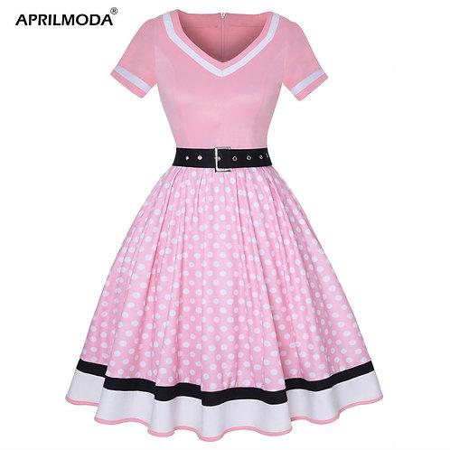 60's Poodle Dress