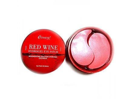Esthetic house Гидрогелевые патчи для глаз с экстрактом красного вина 60шт