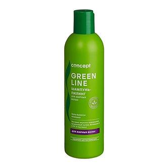 Concept Шампунь-пилинг для жирных волос Sebo-balance shampoo, 300мл