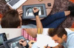 купить недорого графический планшет дисплей xp-pen artist 10s