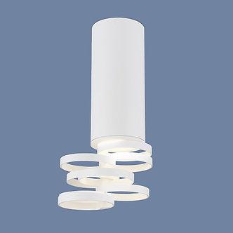 Накладной потолочный светильник Elektrostandard белый
