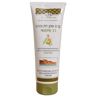 Care & Beauty Line Универсальный крем с оливковым маслом и миртом, 100мл