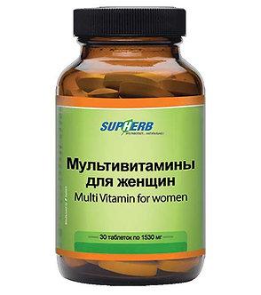 SUPHERB Мультивитамины для женщин, 30 таблеток