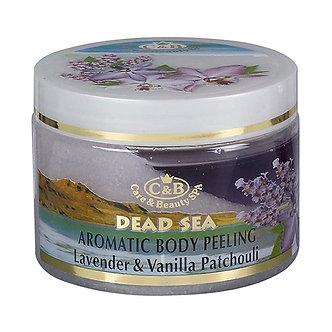 Care & Beauty Line Ароматический пилинг для тела лаванда, ваниль, пачули, 350мл