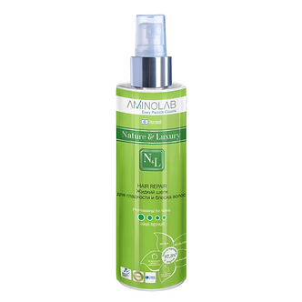 Nature & Luxury Жидкий шелк  для гладкости и блеска волос (спрей) 250 мл