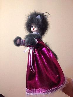 Кошка - игровая кукла перчатка