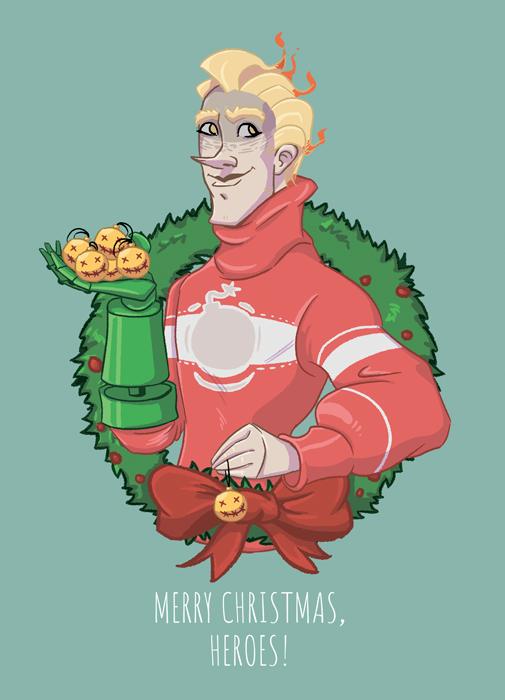 Рождественский Крысавчик (а6)