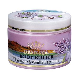 Care & Beauty Line Масло (Сливки) для тела Лаванда и Пачули, 300мл