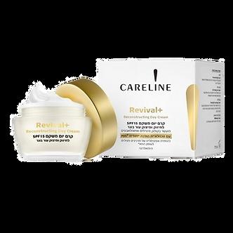 CARELINE REVIVAL+ дневной крем для укрепления кожных тканей  SPF15