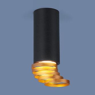 Накладной потолочный светильник Elektrostandard золото; черный
