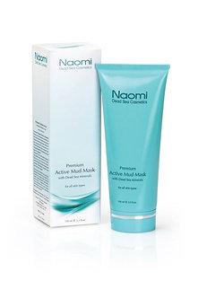 Naomi Активная грязевая маска с минералами Мертвого моря для всех типов кожи