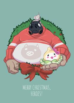 Рождественский Турбосвин (а6)