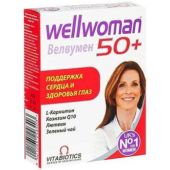 Велвумен 50+ - Особенная поддержка женщин после 50, таблетки 984мг, 30шт