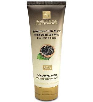 Маска для волос и кожи головы Health Beauty грязевая с минерал.Мертвого моря
