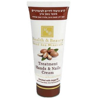 Health&Beauty Крем для ухода за руками и ногтями с маслом Аргана, 180 мл