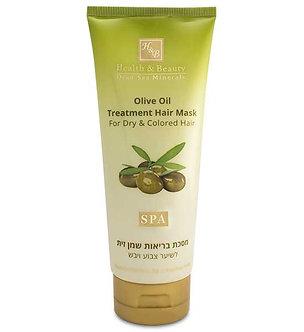 Маска Health Beauty питательная для сухих, поврежденных волос с Оливковым маслом