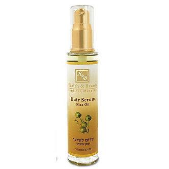 Сыворотка для волос Health and Beauty - льняное масло