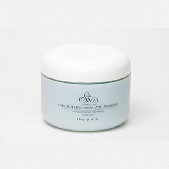 Sher Cosmetics маска с хлорофиллом и протеинами / домашний уход 60мл