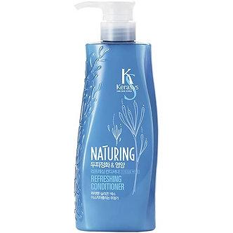 Kerasys Кондиционер Naturing «Уход за кожей головы с морскими водорослями» 500мл