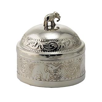 Черный чай ТИ ТЭНГ в сахарнице (серебрянная), 50 г.