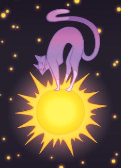 Солнечная кошка