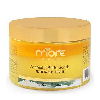 More Beauty Ароматический скраб для тела ВАНИЛЬ / Aromatic Body Scrub  350 ml