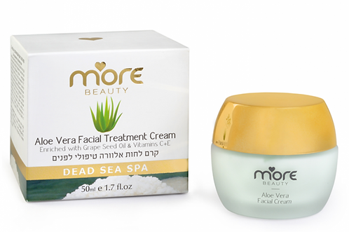 More Beauty Увлажняющий крем с алоэ вера / Aloe Vera Facial Treatment Cream 50ml