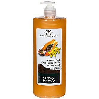 """Care & Beauty Line Жидкое мыло для рук и тела """"Очарование папайи"""", 1000мл"""