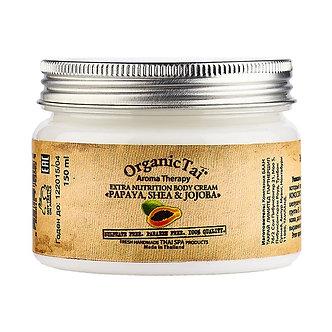 Organic Tai Экстрапитательный крем для тела  «ПАПАЯ, ШИ И ЖОЖОБА», 150 мл
