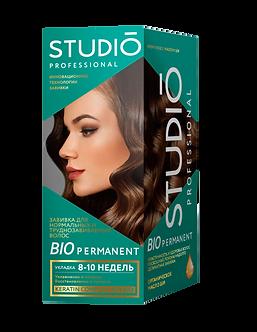 STUDIO Биозавивка для нормальных и труднозавиваемых волос. 100/100/50 мл