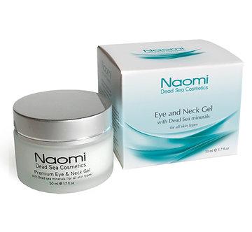 Naomi Гель для кожи вокруг глаз и шеи с минералами Мертвого моря