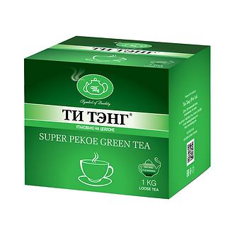 Зеленый чай ТИ ТЭНГ Супер пекое, 1000 г.