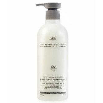 Lador Увлажняющий бессиликоновый шампунь для волос Moisture Balancing Shampoo