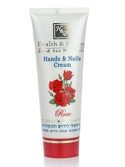 Мультивитаминный крем для рук и ногтей Роза Health&Beauty 100мл