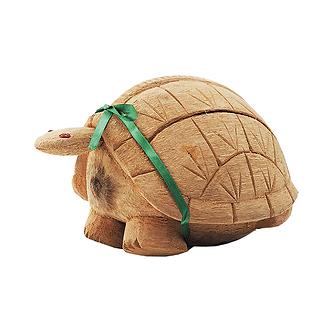 """Зеленый чай ТИ ТЭНГ """"Черепаха"""" в упаковке из натурального кокоса"""