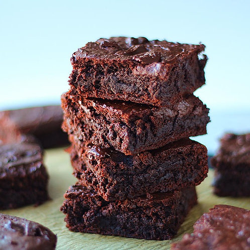 Brownies | Fudgy Sweet Potato