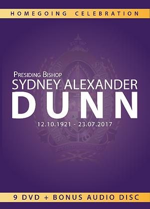 Homegoing Service of Bishop Sydney Alexander Dunn Box Set