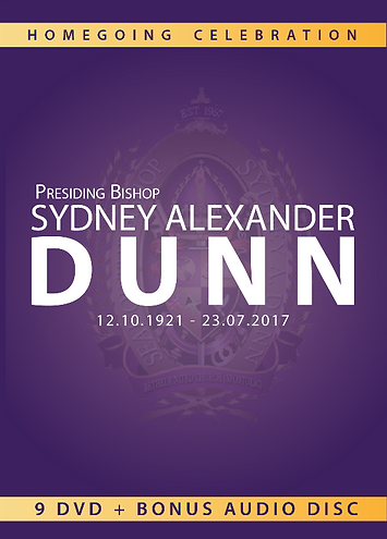 Homegoing Service of Bishop Sydney Alexander Dunn Box Set
