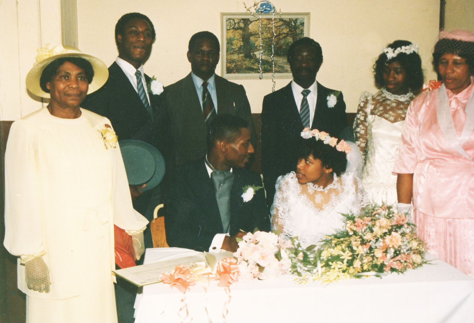 Raymond & Michelle's Wedding 1987
