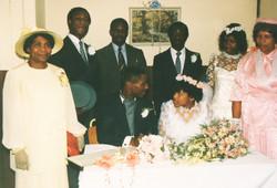 Raymond & Michelle's Wedding 1987