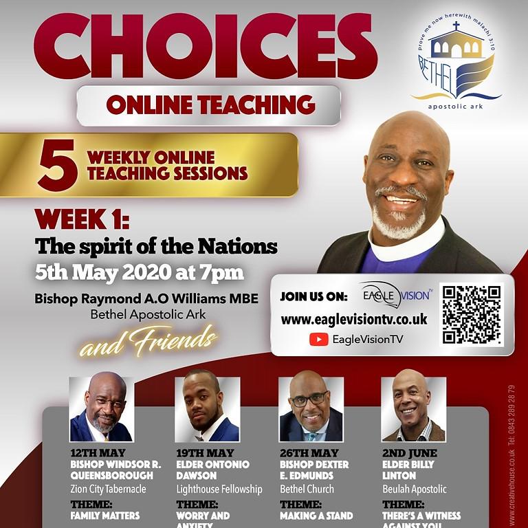 CHOICES Online Teaching Series